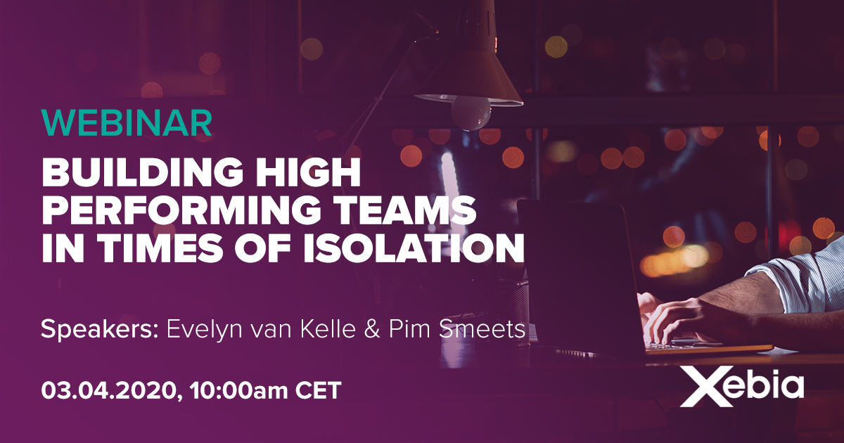 Webinar - Building high performing teams in times of isolation v1.1