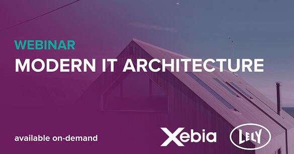 Webinar - Modern IT Architecture on demand