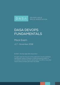 DASA DevOps Fundamentals Mock Exam