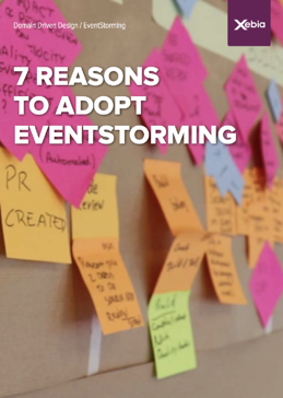 front page - 7 reasons eventstorming