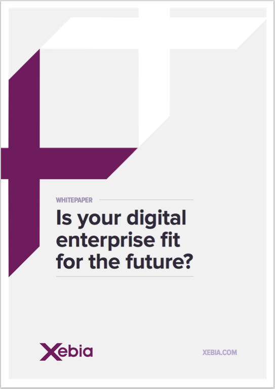 Digital Enterprise fit for future-xebia